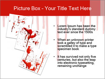 Realistic Blood PowerPoint Template - Slide 17