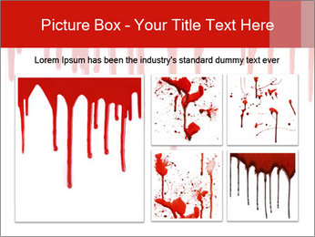 Realistic Blood PowerPoint Template - Slide 19