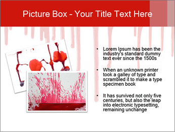Realistic Blood PowerPoint Template - Slide 20