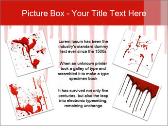 Realistic Blood PowerPoint Template - Slide 24