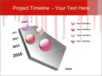 Realistic Blood PowerPoint Template - Slide 26