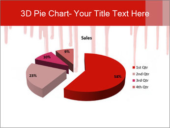Realistic Blood PowerPoint Template - Slide 35