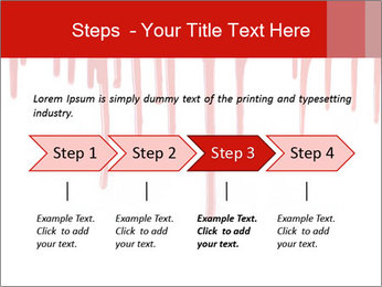 Realistic Blood PowerPoint Template - Slide 4