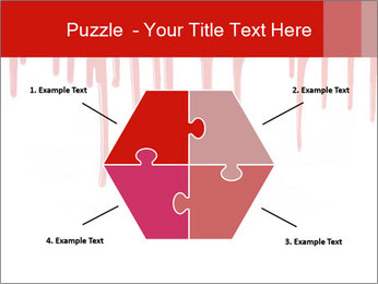Realistic Blood PowerPoint Template - Slide 40