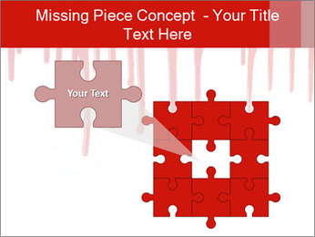 Realistic Blood PowerPoint Template - Slide 45