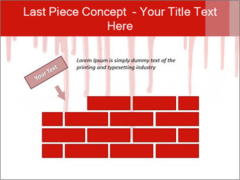 Realistic Blood PowerPoint Template - Slide 46
