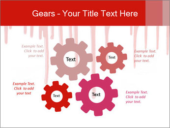 Realistic Blood PowerPoint Templates - Slide 47
