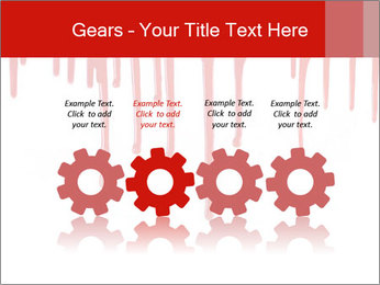 Realistic Blood PowerPoint Templates - Slide 48