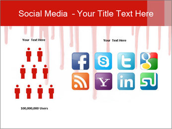 Realistic Blood PowerPoint Templates - Slide 5
