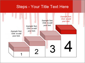 Realistic Blood PowerPoint Template - Slide 64