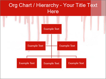 Realistic Blood PowerPoint Template - Slide 66