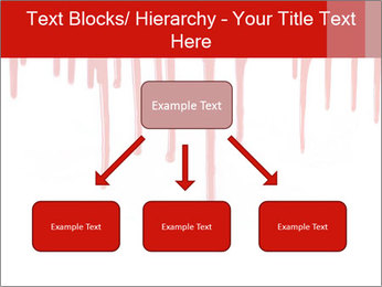 Realistic Blood PowerPoint Templates - Slide 69