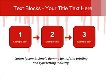 Realistic Blood PowerPoint Templates - Slide 71