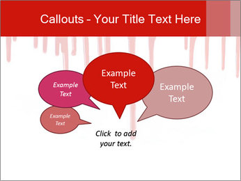 Realistic Blood PowerPoint Templates - Slide 73