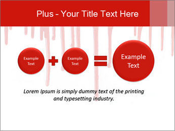 Realistic Blood PowerPoint Templates - Slide 75