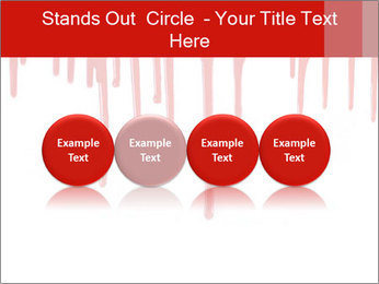 Realistic Blood PowerPoint Template - Slide 76