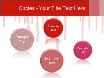 Realistic Blood PowerPoint Template - Slide 77