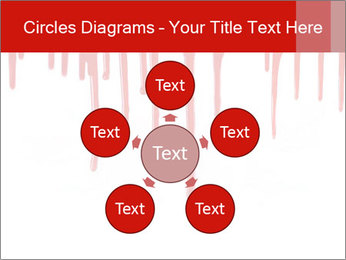 Realistic Blood PowerPoint Template - Slide 78