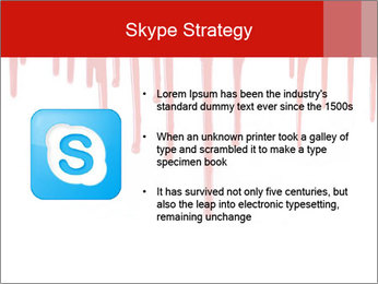 Realistic Blood PowerPoint Templates - Slide 8