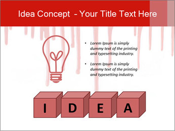 Realistic Blood PowerPoint Templates - Slide 80