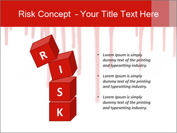 Realistic Blood PowerPoint Template - Slide 81