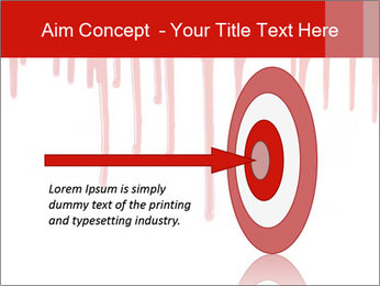 Realistic Blood PowerPoint Template - Slide 83