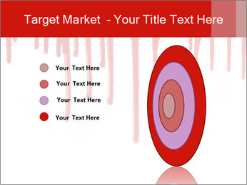 Realistic Blood PowerPoint Template - Slide 84