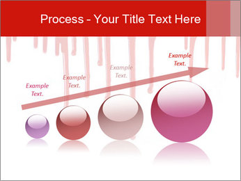 Realistic Blood PowerPoint Template - Slide 87