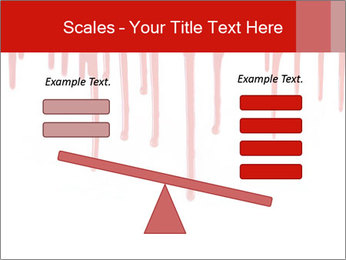 Realistic Blood PowerPoint Template - Slide 89