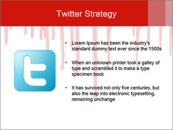 Realistic Blood PowerPoint Templates - Slide 9