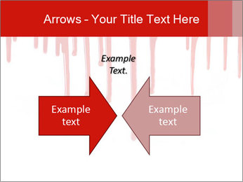 Realistic Blood PowerPoint Templates - Slide 90
