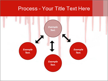 Realistic Blood PowerPoint Template - Slide 91