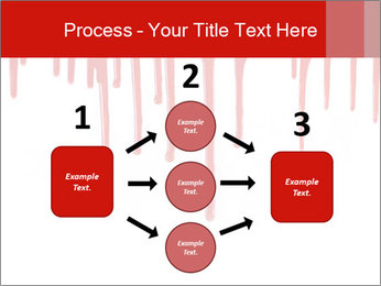 Realistic Blood PowerPoint Template - Slide 92