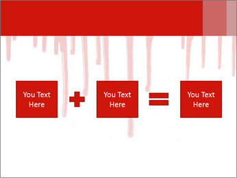 Realistic Blood PowerPoint Template - Slide 95