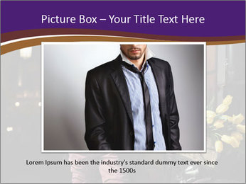 French Man PowerPoint Template - Slide 15