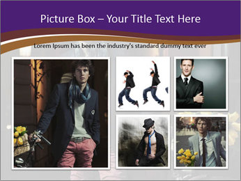 French Man PowerPoint Template - Slide 19