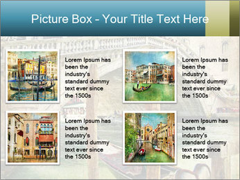 Venice Oil Painting PowerPoint Template - Slide 14