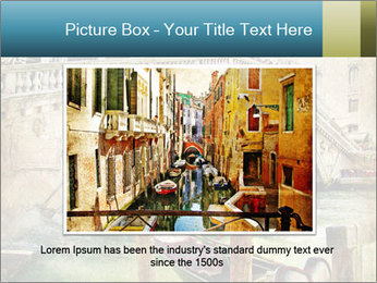 Venice Oil Painting PowerPoint Template - Slide 15