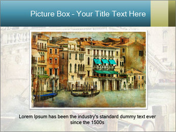 Venice Oil Painting PowerPoint Template - Slide 16