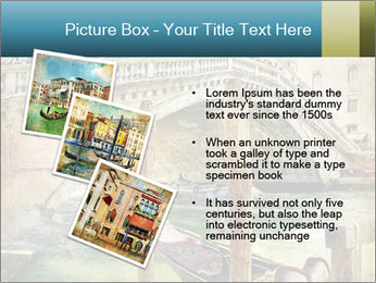 Venice Oil Painting PowerPoint Template - Slide 17