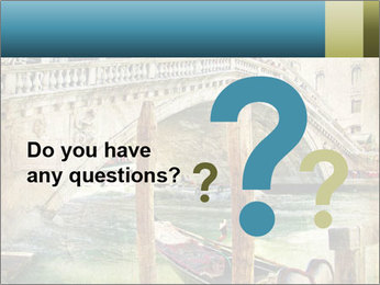 Venice Oil Painting PowerPoint Template - Slide 96