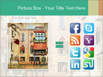 Venice Painting PowerPoint Template - Slide 21