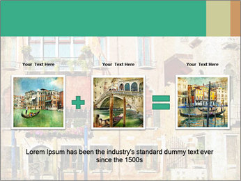 Venice Painting PowerPoint Template - Slide 22