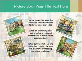 Venice Painting PowerPoint Template - Slide 24
