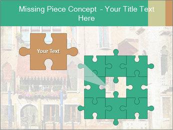 Venice Painting PowerPoint Templates - Slide 45