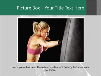 Silhouette of Martial Fighter PowerPoint Template - Slide 16