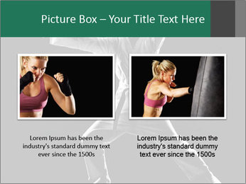 Silhouette of Martial Fighter PowerPoint Template - Slide 18