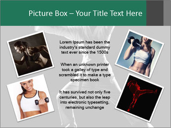 Silhouette of Martial Fighter PowerPoint Template - Slide 24