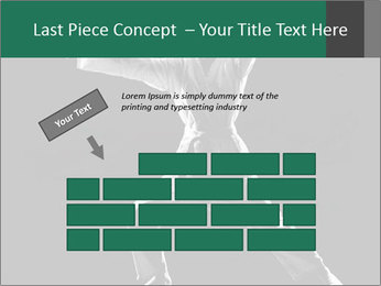 Silhouette of Martial Fighter PowerPoint Template - Slide 46