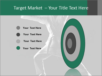 Silhouette of Martial Fighter PowerPoint Template - Slide 84